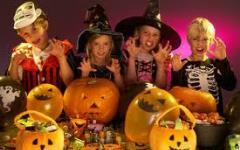 <b>Cesenatico: Halloween at  the Mirabilandia theme park. </b>